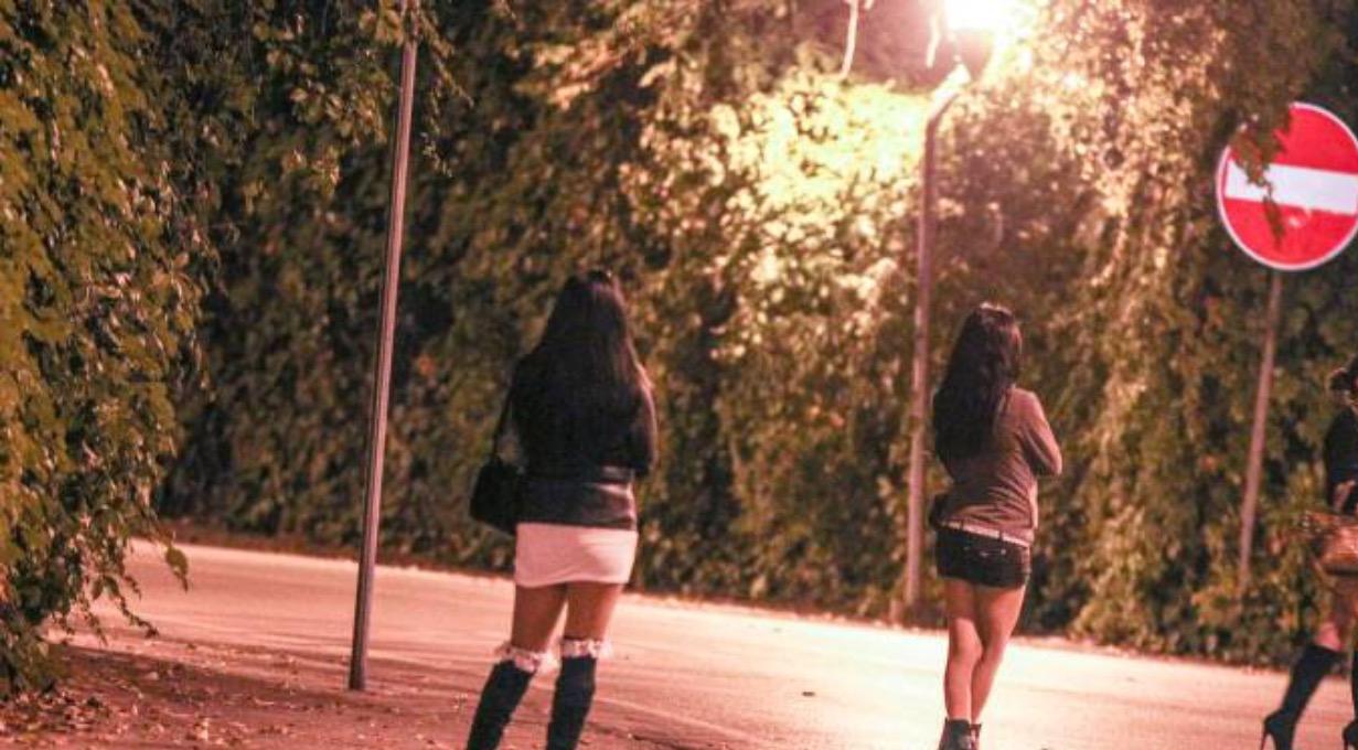 pubblicità di prostitute