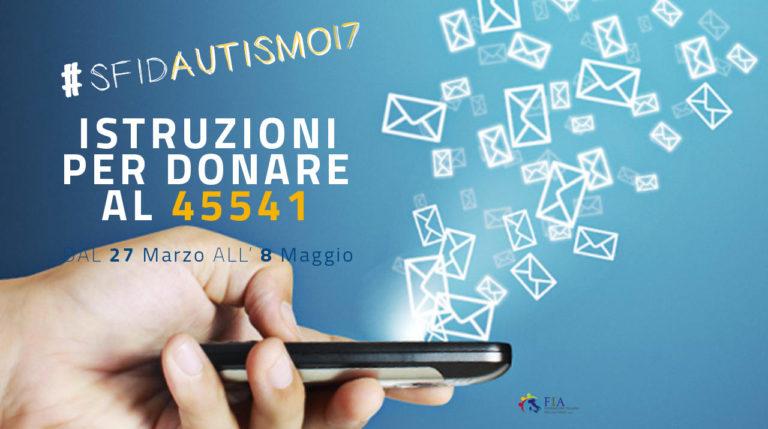 Campagna per raccolta fondi per l'autismo