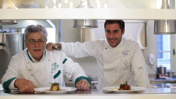 Risultati immagini per Alfonso ed Ernesto Iaccarino   chef